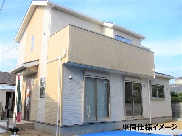 【外観:施工例】大和高田市南本町 新築(全2棟)2号棟