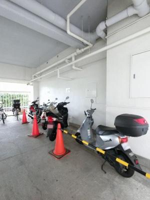 バイク置場スペースです。