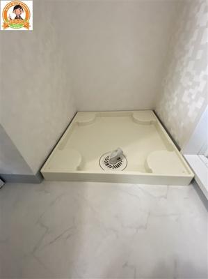 人気の室内洗濯機置き場