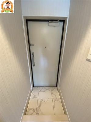 高級感のある玄関スペース