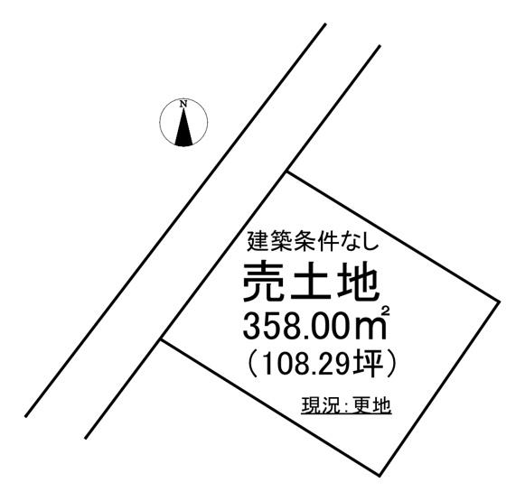 【土地図】錦町中央2丁目 売土地