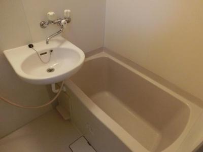 【浴室】メゾン・ド・ソレイユA