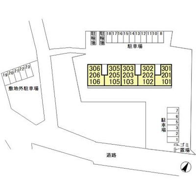 【区画図】メゾン ブロンシュ
