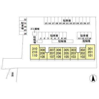 【区画図】ハピネス ストーム