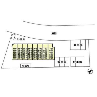 【区画図】アルバ南柏