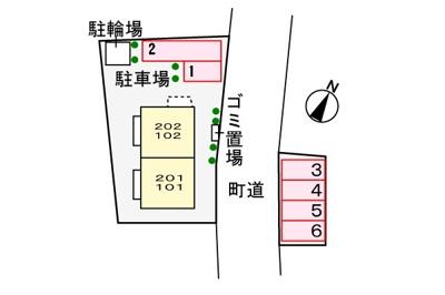 【駐車場】エトワールイズミ