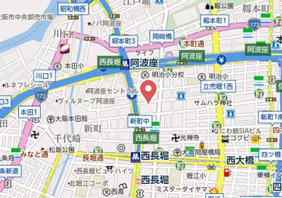 【地図】ジラソーレ本町通
