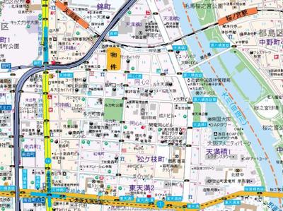 【地図】コンソラーレ同心
