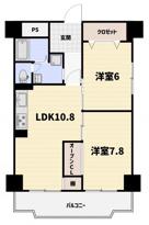 日商岩井朱雀マンションの画像