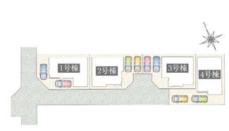 【外観】寒川町一之宮 新築戸建 4号棟