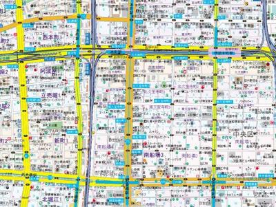 【地図】プライムアーバン御堂筋本町