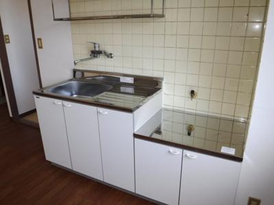 【キッチン】キャッスル岸Ⅱ