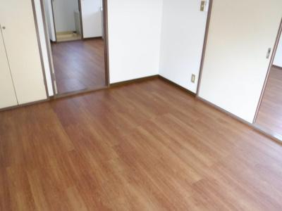 【寝室】キャッスル岸Ⅱ