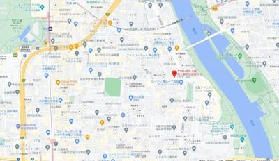 【地図】プレジオ天満