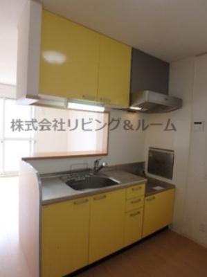 【キッチン】グランシャリオ・D棟