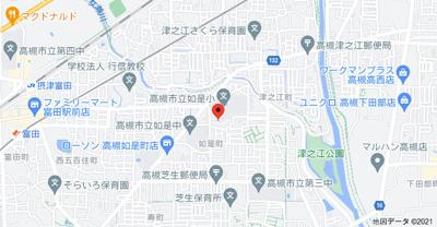 【地図】如是町4戸1貸家 (株)Roots