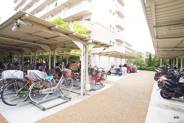 【駐輪場・バイク置場】