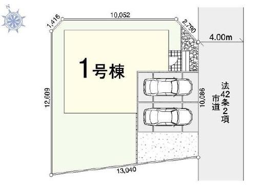 【区画図】野田市桜台1期