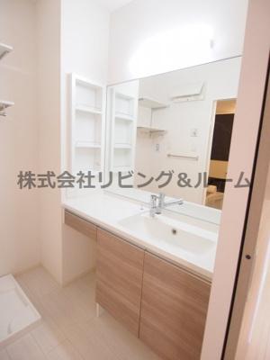 【洗面所】コンフォートⅢ A棟