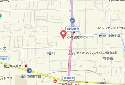 【地図】セレーノ山越