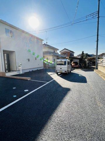 【前面道路含む現地写真】野田市上花輪第16 全2棟