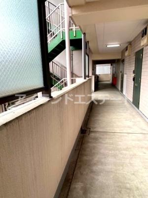 【その他共用部分】シャンテ三宿 ペット相談可 バストイレ別 室内洗濯機置場