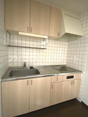 【キッチン】シャンテ三宿 ペット相談可 バストイレ別 室内洗濯機置場