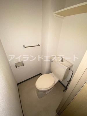 【トイレ】シャンテ三宿 ペット相談可 バストイレ別 室内洗濯機置場