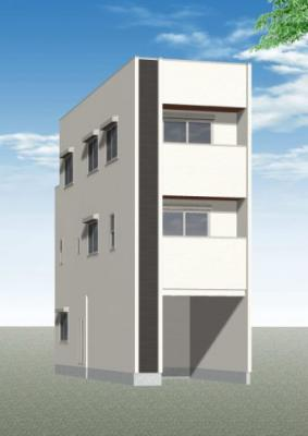 神戸市兵庫区大開通10丁目 新築一戸建て