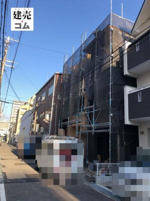 神戸市兵庫区大開通10丁目 新築一戸建て 2021/9/18現地撮影