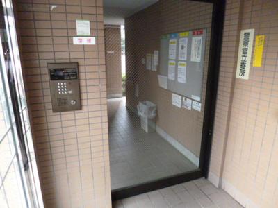【セキュリティ】スカイコート志村坂上