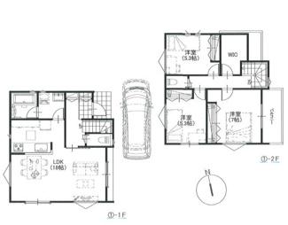 3LDK、延床面積89.1平米、建物価格1,410万円