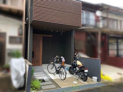 【玄関】右京区西京極堤下町