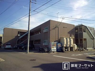 【外観】ハイツ新渡場A棟