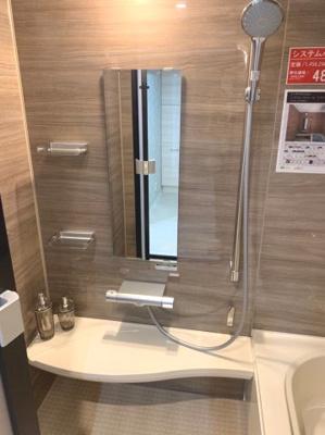 高さ調整がしやすいシャワーヘッド。