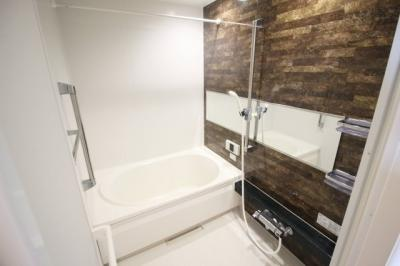 広ろい浴室