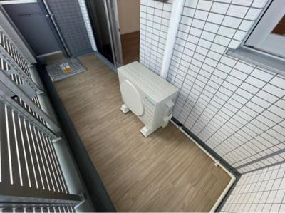【バルコニー】ザ・レジデンス・オブ・トーキョーH20イーストタワー