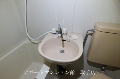 【洗面所】フラット白山第一