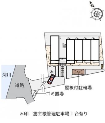 【区画図】ミランダサンテラスF