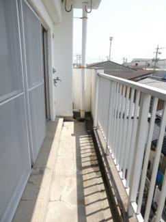 【バルコニー】高浜市碧海町5丁目 店舗アパート