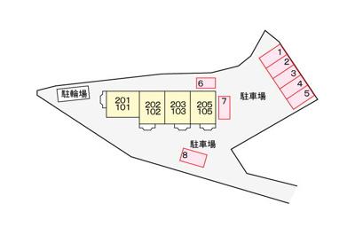 【区画図】リブェール嵐山