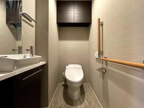 【トイレ】シティータワー国分寺ザ・ツインイースト 3LDK 32階