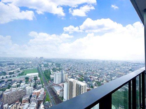 【展望】シティータワー国分寺ザ・ツインイースト 3LDK 32階