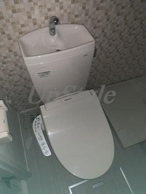 【トイレ】ハーモニーテラス柴又Ⅴ