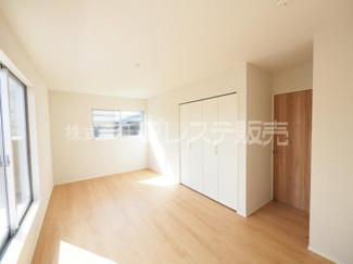 2階居室施工例/全室南向きですので、陽あたり良好です♪