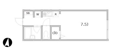 【区画図】フロンティア桜新町