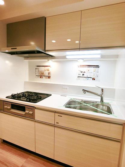 キッチンも新規交換につき快適です