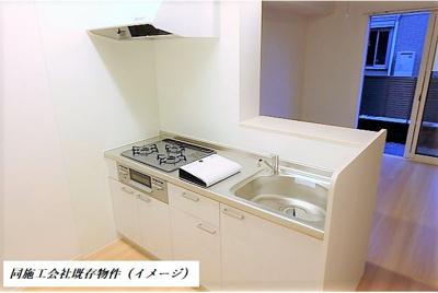 【キッチン】D-room砂川町