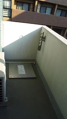 【バルコニー】スカイコート日本橋壱番館