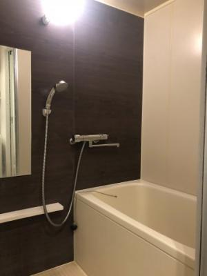 【浴室】ガーデンテラス王子